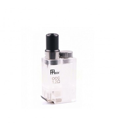 E-liquide naturel sans propylène glycol Végétol® accessoires cartouche 1.2 Ω FHBOX Flavor Hit